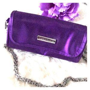 Purple clutch